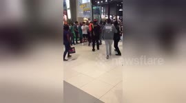 Newsflare - Black Friday fight breaks out at Gateway