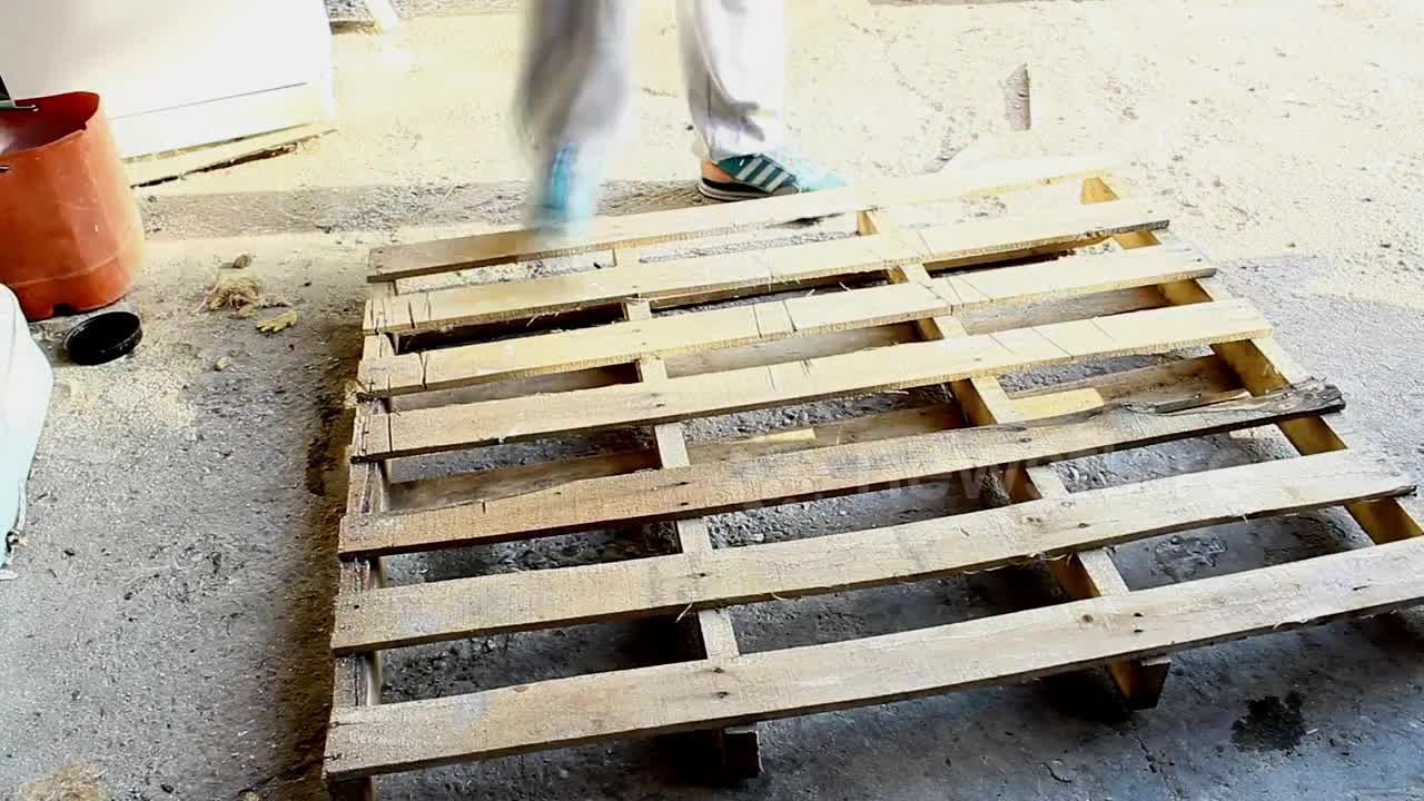 Newsflare How To Make A Dog Bed Using A Pallet