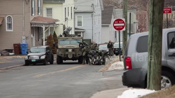 Newsflare - Barricaded Man/SWAT Standoff Situation Footage