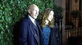 Newsflare - Sir Patrick Stewart's Wife Sunny Ozell tells Off
