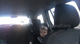 Newsflare - Elf in car seat leads to epic dilemma - sit down or ruin ...
