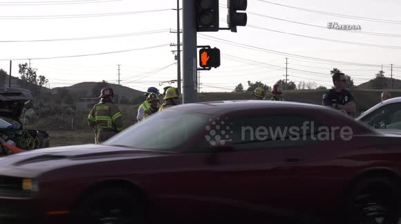 Newsflare - Murrieta Fatal Fiery Crash