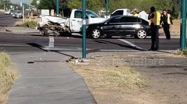 Newsflare - Crash in Hackney halts traffic