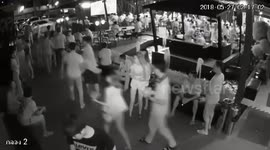 Newsflare - CCTV of unconscious woman carried out of bar before