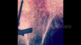 Newsflare - Incredible moment Target Fireworks light up the