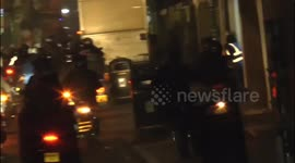 Newsflare - Met Police's anti-moped crime Scopion unit responds to a