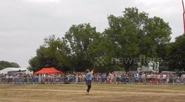 Newsflare - Falcon attacks Eagle
