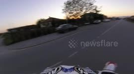 Newsflare Honda Crf450 Wheelie