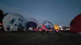 Newsflare - On and Off Weather at Bristol Balloon Fiesta 2019