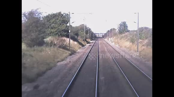 Newsflare - Terrifying near miss at level crossing