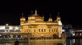 Newsflare Golden Temple Full Hd Night Footage Amritsar Punjab