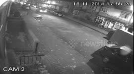 Newsflare - Police chase and crash, dashcam  Uk Reading