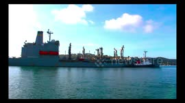 Newsflare - HDMS Absalon (L16) Danish Navy Leaving the navy