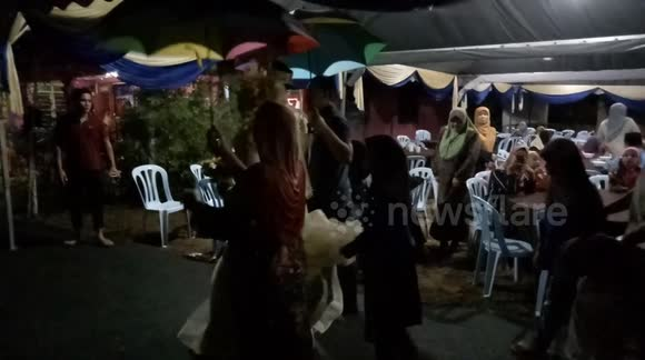 Newsflare - Traditional Malay Wedding Ceremony in Malaysia