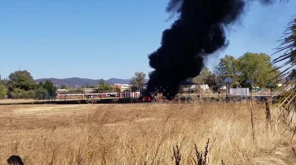 Newsflare - Fire Car Accident Truck Trucks