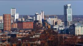 Newsflare - Leeds City Skyline 2018 20 Image Panorama
