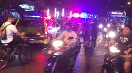 Newsflare - Car accident 04-Dec-2015 Nakornpathom Thailand