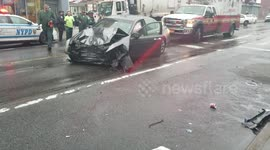 Newsflare Car Accident Brooklyn