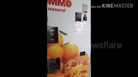 Newsflare Singapore Fresh Orange Juice Vending Machine