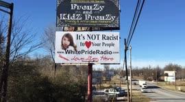 Newsflare - KKK billboard in H...