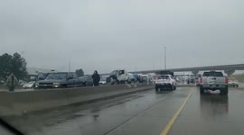 Newsflare - Truck accident on Highway I-70 near Denver due