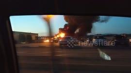 Newsflare - US missionaries injured in plane crash taken to hospital