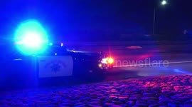 Newsflare - Corona: Man is Killed Jumping off Freeway and is Getting