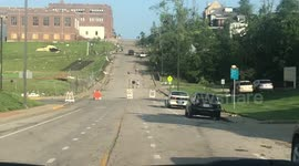 Newsflare - Driving through Jefferson City damage