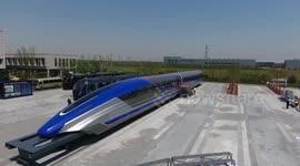 Newsflare - Coin balance test on 'fastest bullet train'