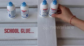 Newsflare - Woman drips super glue into her eyes instead of eye drops