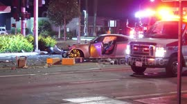 Newsflare - Ontario: Pursuit from West Covina Comes to an