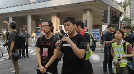 Newsflare - Anti extradition law protest in Hong Kong heading