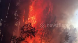 Newsflare - Arrests made after fire erupts at a North