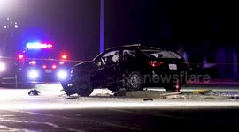 Newsflare - At Least One Dead In Early Morning Head on Crash