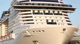 Newsflare - P&O Britannia cruise ship anchors in Weymouth ...