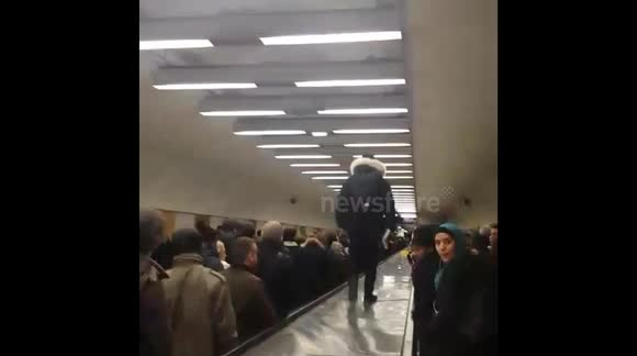 Strikes lead to commuter chaos in Paris train station