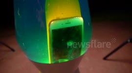 Man Drops IPhone 6 In Lava Lamp