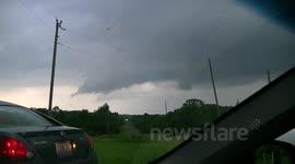 newsflare 30 mins to 1 hour after the moore oklahoma ef5 tornado