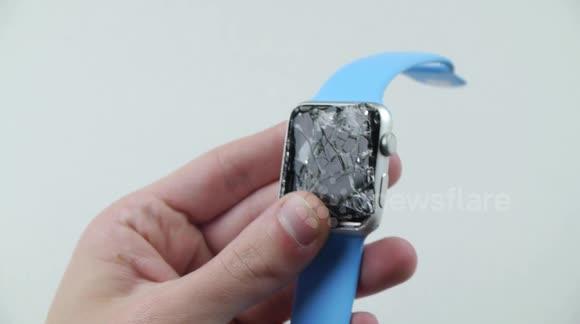 Newsflare New Apple Watch Fails Drop Test