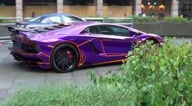 Newsflare Lamborghini Aventador Parks Up At London Hotel