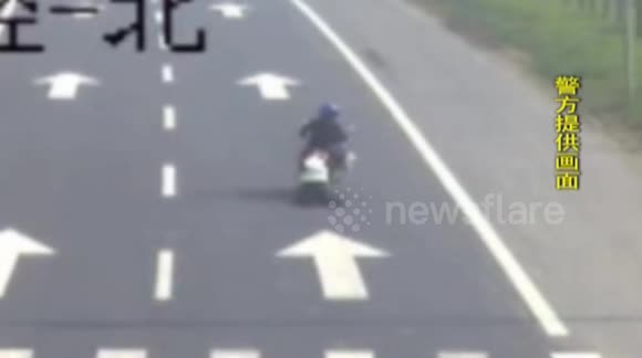 Man drags police officer on motorbike for around 100 metres