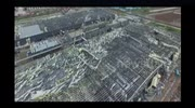 Aerial footage of post-tornado devasation in eastern China