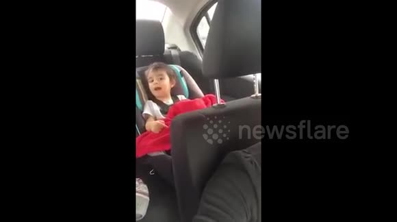 DUPLICATE Toddler tries to say the word 'truck' and it doesn't go well