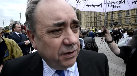 What does Alex Salmond think about the current state of the Labour Party?