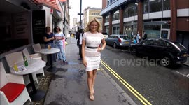 Newsflare - Ashley James and Charlotte de Carle attend the