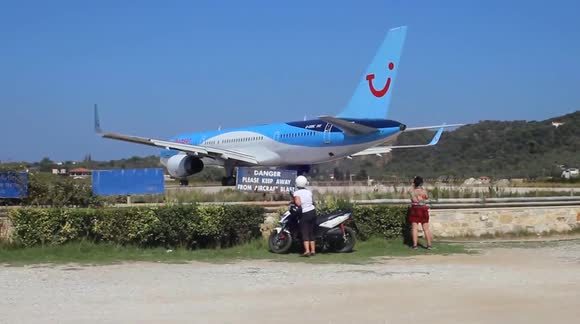 This is why you shouldn't park a quad bike behind a Boeing 757