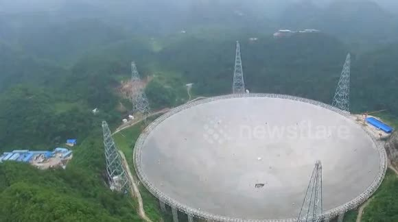China takes hunt for alien life to new levels with world's largest radio telescope