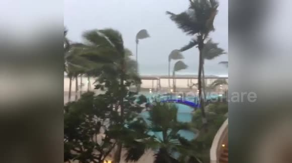 Hurricane Matthew in Barbados
