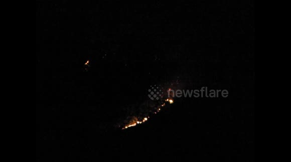 Blackwall mountain Bushfire