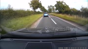 Shocking Dashcam Footage Sees Porche Driving Narrowly Miss Head Collision